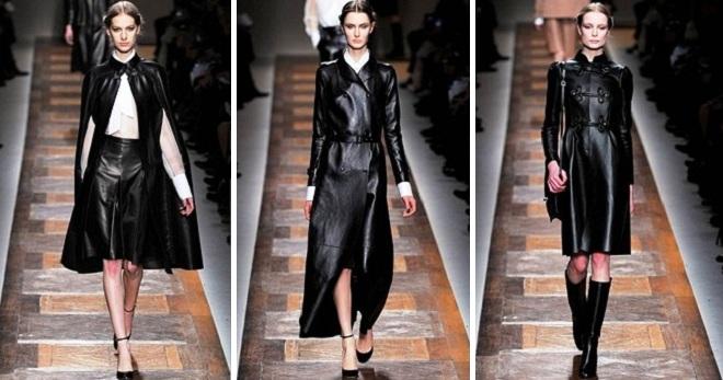 1d7fda24b0c Модное женское кожаное пальто – зимнее и демисезонное