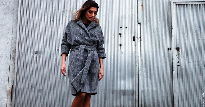bcf17209377 Женское серое пальто – с чем носить эту универсальную демисезонную одежду
