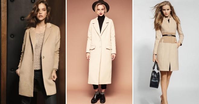 c2fb3846f53 Женское бежевое пальто – отличная основа для модного образа
