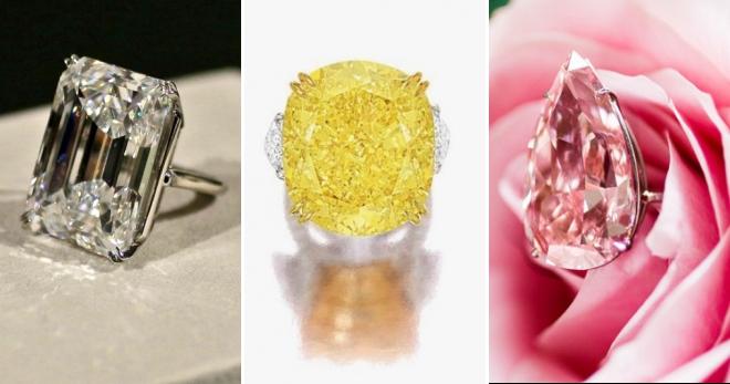 1391f34af414 Женское золотое кольцо с бриллиантом – черным и розовым, с большим ...