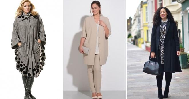 7124a620486 Пальто для полных – как подобрать стильную модель на полную фигуру