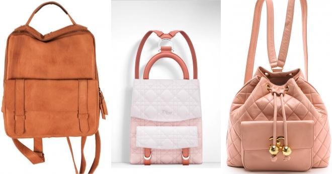 e499d3262f55 Модные женские рюкзаки – кожаные и джинсовые, городские молодежные и ...