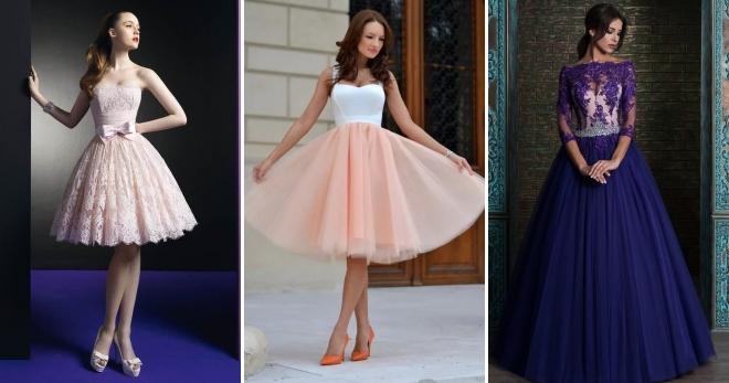 Пышные платья – лучшие короткие и длинные модели на все случаи жизни