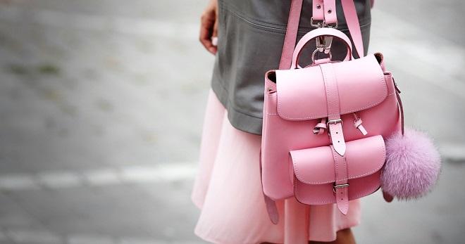 ed2eda58fe39 Модные рюкзаки для девушек – красивые аксессуары для создания стильных  образов