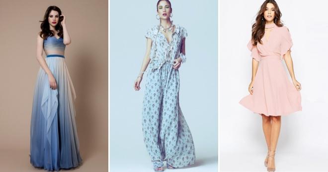 Платья из шифона – какие модели будут актуальны в новом сезоне?