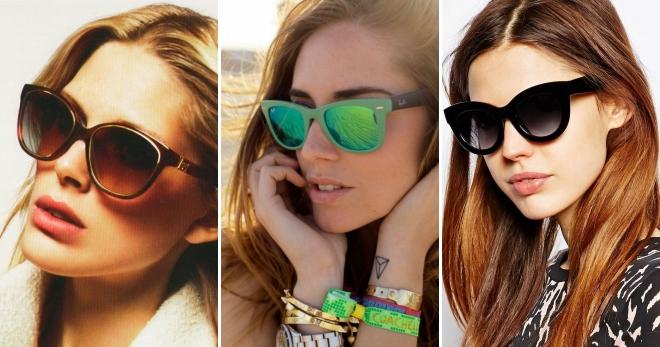 9df945478a38 Модные брендовые солнцезащитные очки – Vogue и Dior, Prada, Gucci и ...