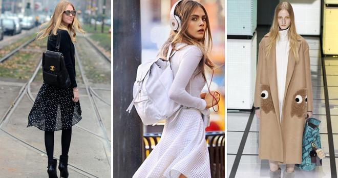 Женский кожаный рюкзак – лучшие молодежные и городские модели для современных модниц