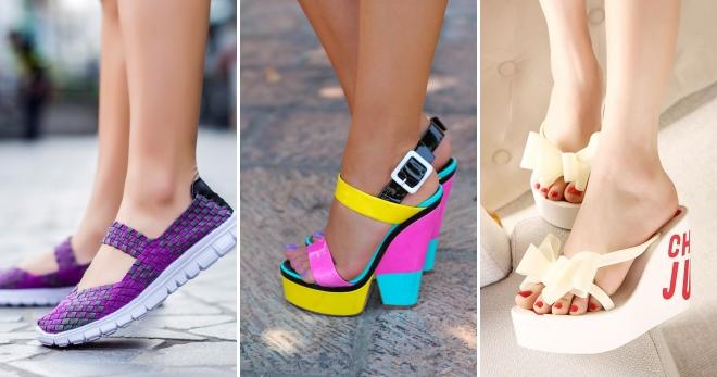 bd4125a278ae Стильная женская обувь лето 2017 – модные тенденции, тренды и цвета