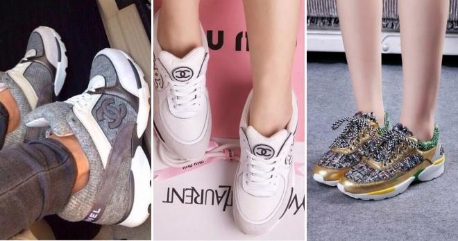 Кроссовки Шанель – оригинальная брендовая обувь для стильных девушек ed7bd6d114ad5