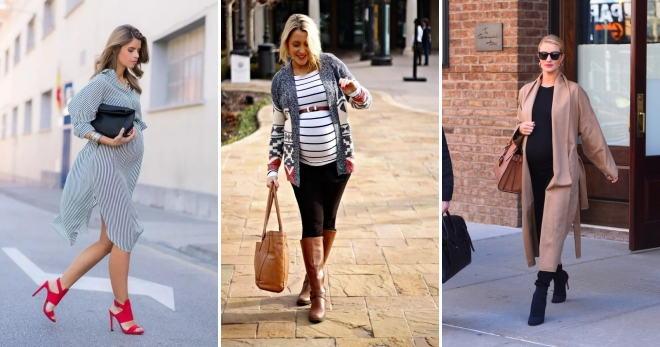 762220db9ab Мода для беременных 2017 – самая модная одежда для будущих мамочек