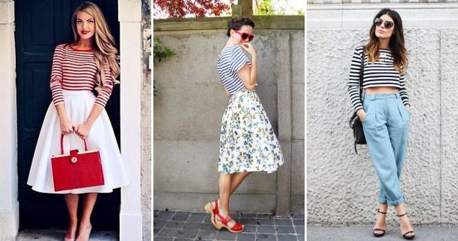 Женская тельняшка – с чем носить этот модный предмет гардероба?