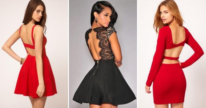 b0453481379 Платье с открытой спиной – самые красивые и модные модели на все случаи  жизни