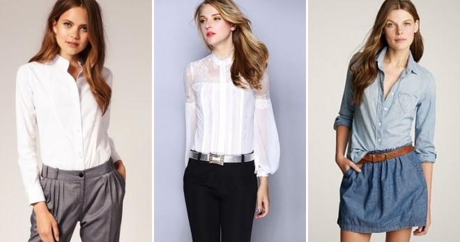634a88c657fa Красивые летние блузки 2017 – модные тенденции для полных и стройных ...