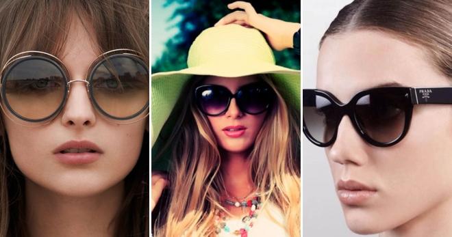 b7ad151025ef Женские брендовые солнцезащитные очки 2017 – какие модели нужно носить в  новом сезоне