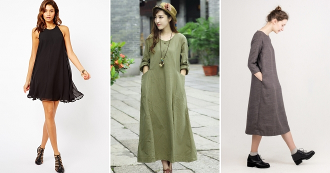 1545e89a0d6 Платье-трапеция – новый взгляд на традиционный фасон