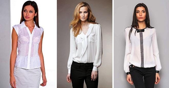 98a175f2756 Белая блузка – модное решение на все случаи жизни