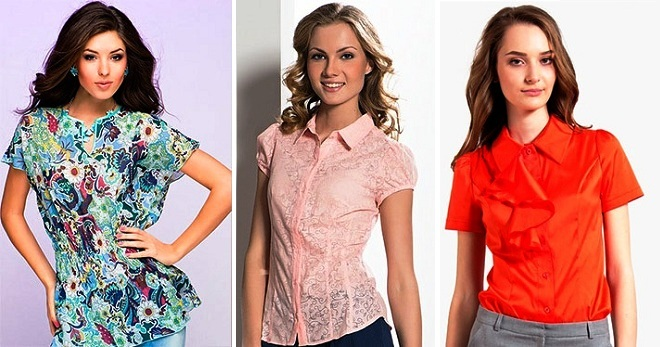 1ea31500465 Летние блузки с коротким рукавом – яркие и пастельные модели к любому стилю
