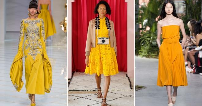 Желтое платье – лучшие фасоны и модели солнечных оттенков для жизнерадостных модниц