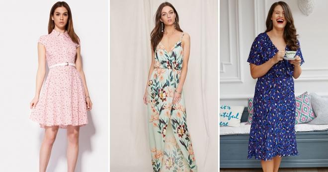 Модные летние платья из штапеля − в русском стиле и бохо, длинные ... 96629bce053