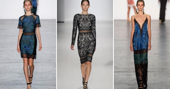 24a22cf6da6 Красивое модное гипюровое платье − короткое и длинное в пол