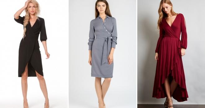 912108b762c Платье с запахом – кому подходит и с чем носить