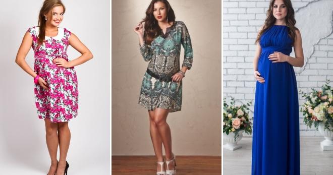 62d6b2835f8 Летние платья для беременных – самые красивые и удобные наряды для будущих  мам
