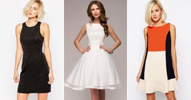 31d23c7d99b Платье без рукавов – лучшее решение на лето и не только!