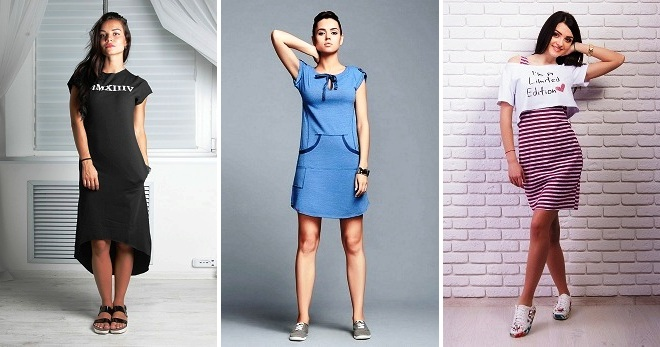 Модные женские спортивные платья – длинные и короткие e0a4cfa5dace3
