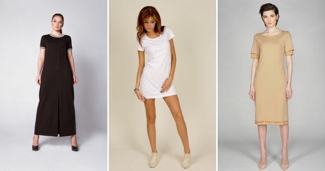 9f2ea50ed9b Платье футболка – стильный и универсальный наряд на каждый день