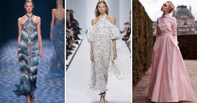 Платья макси – кому подходят и с чем носить?