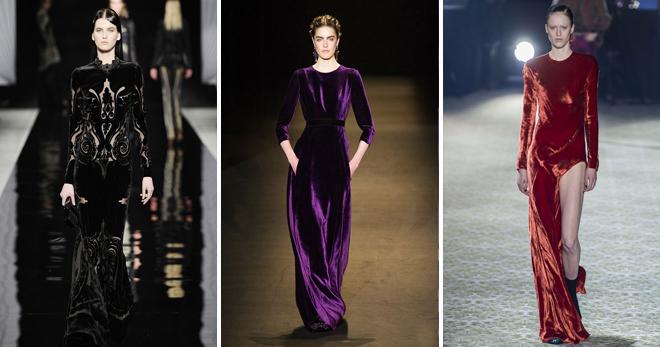 eb9b4cc091a Бархатное платье – лучшие модели для роскошных женщин