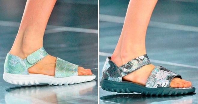 Женские спортивные сандалии – лучшие модели от известных брендов