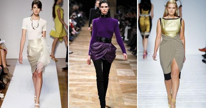 Юбка-тюльпан – самый женственный фасон для утонченных модниц