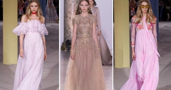0525b9e8f6c Самые красивые длинные платья 2017 – вечерние и повседневные