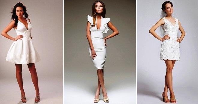 59c0eaa44e9c82c Белое короткое платье – отличная альтернатива маленькому черному платью