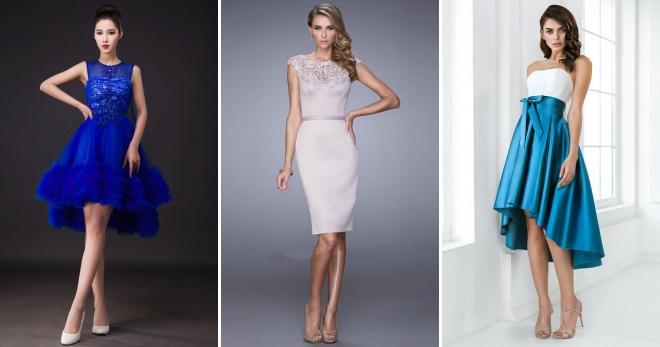 Короткие вечерние платья – подборка лучших моделей для настоящих модниц