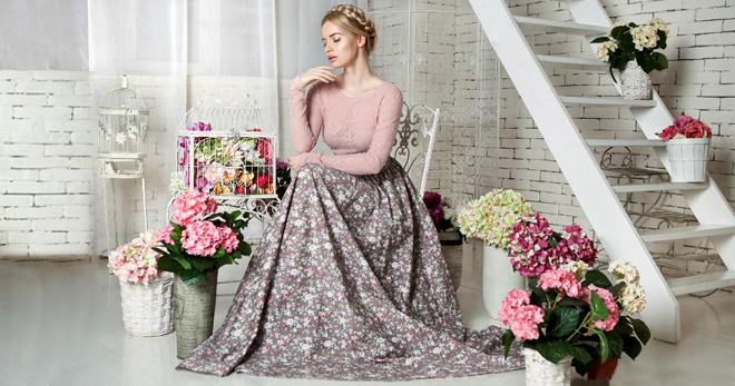 Длинные летние юбки – самые модные фасоны и с чем носить?