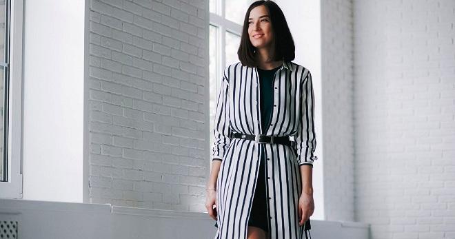 Striped tröja - hur man skapar ett trendigt utseende  b130e3caa682b