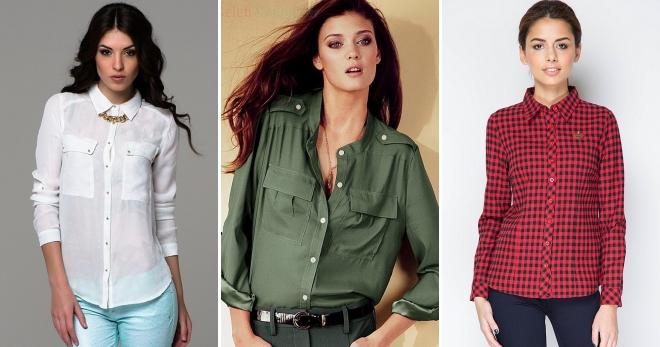 fe48a78a10f Женские стильные рубашки и подборка лучших образов