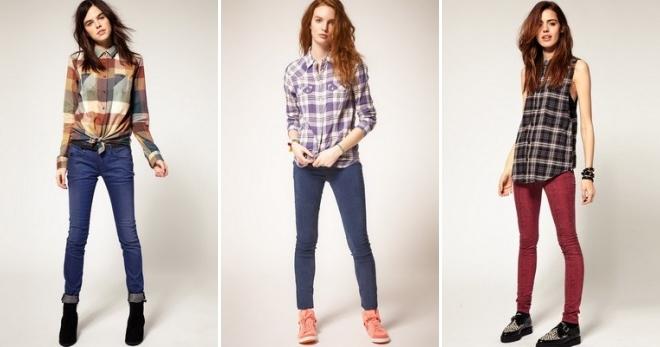 С чем носить джинсовую рубашку. Фото и видео джинсовых.
