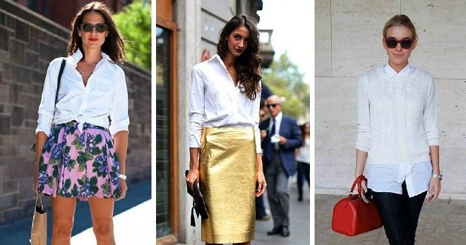 03d44e6dd62 Стильная женская белая рубашка – классическая