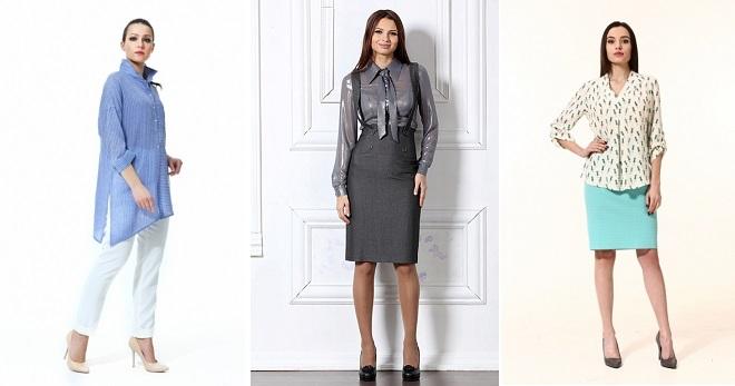 Женские рубашки для офиса – самые стильные модели нового сезона