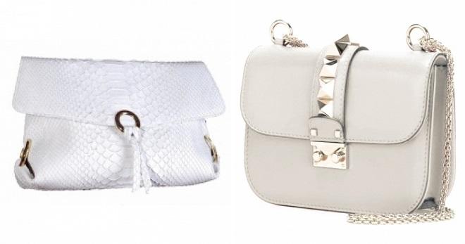 7b6c4f281907 Белый клатч – лучшие классические и оригинальные брендовые модели