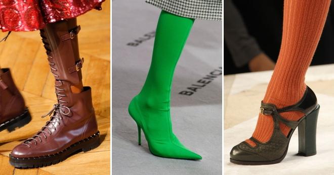75246ab15 Модная обувь осень 2017 – на каблуке, танкетке, платформе, плоской ...