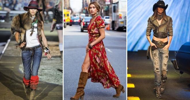 Стиль кантри – как создавать модные образы?