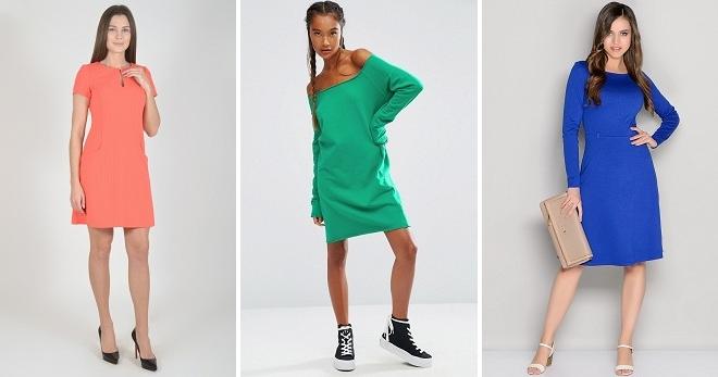 Трикотажные платья – с чем носить и как создавать стильные образы?