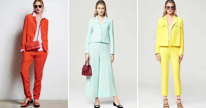 b22f28f0d424 Стильный женский деловой костюм – тройка, брючный, с юбкой, шортами ...