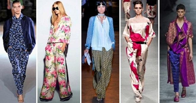 Пижамный стиль – как выглядеть женственно каждый день  a8c28d0ad975f