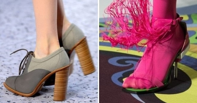 Женские туфли осень 2017 года – модные тенденции – на низком каблуке ... cf789741ea4