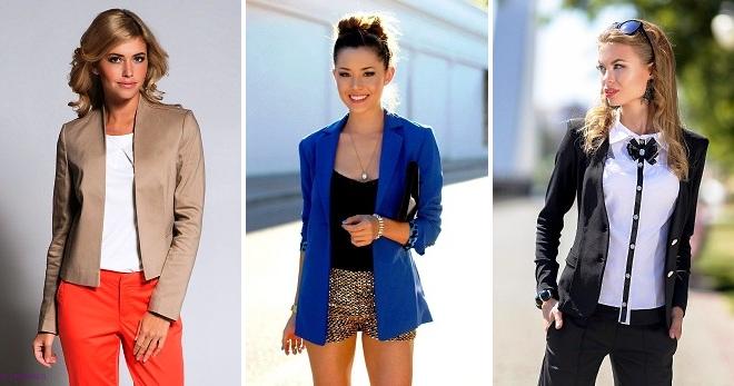 пиджаки женские трикотажные фото